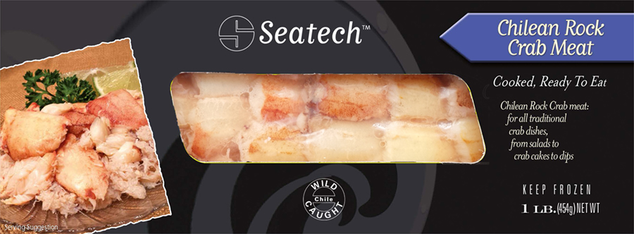 Seatech Chilean rock crab meat is perfect for foodservice and retail. www.seatechcorp.com